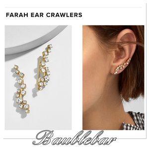 NWT Baublebar Farah Ear Crawlers
